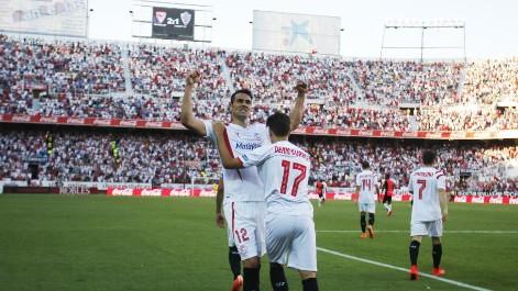 Liga BBVA: Resumen del Sevilla 2-1 Almer�a