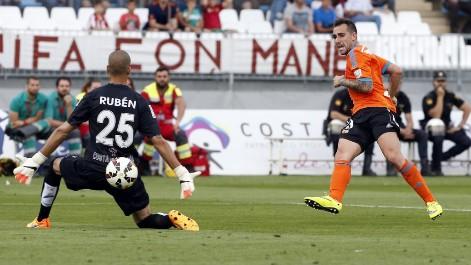 Encuentro de la jornada 38 de la temporada 2014-2015.