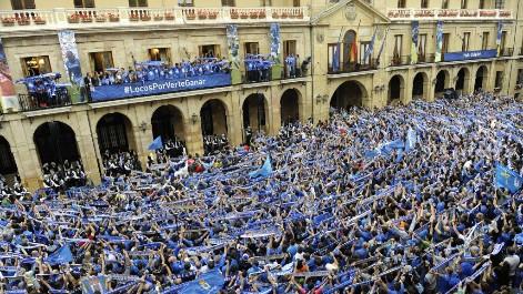 Oviedo recibe a sus h�roes