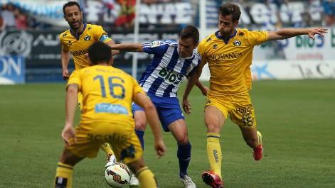 Liga Adelante: Resumen de la Ponferradina 1-1 Alcorcón