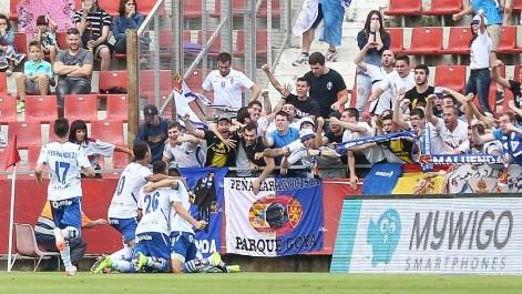 Liga Adelante: Girona 1 - 4 Zaragoza