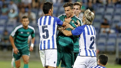 Amistoso: Resumen del Recreativo de Huelva 1-2 Real Betis