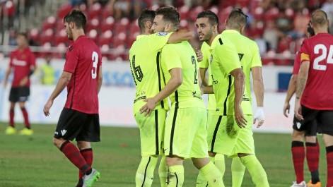 El Levante ganó al Mallorca con un gran gol de su lateral derecho