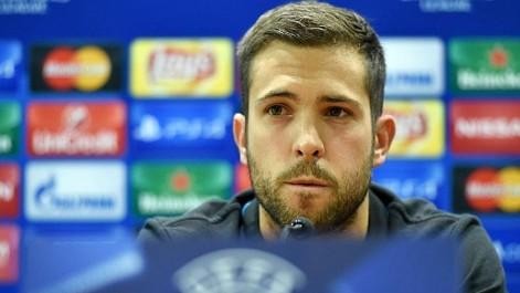 Jordi Alba: Messi está cinco peldańos por encima del resto