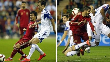 Espańa viaja a Kiev sin los lesionados Silva y Morata