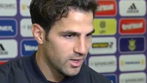 Cesc: He sido muy feliz con Espańa, lo soy y espero serlo más tiempo