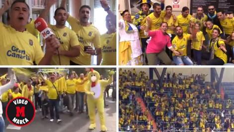 La fiesta amarilla en su vuelta al Bernab�u