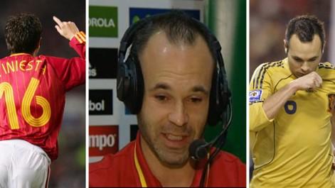 Iniesta: El gol en Old Trafford tiene un significado importante para m�