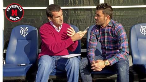 David Villa: Si fuera Del Bosque, no me preocuparía por la delantera