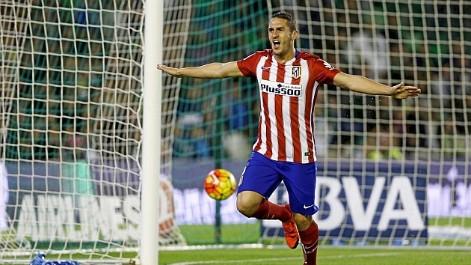 Liga BBVA (J12): Resumen del Betis 0-1 Atlético de Madrid