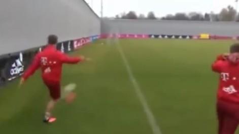 El golazo imposible de Xabi Alonso