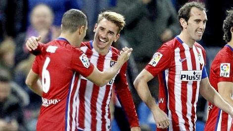 Liga BBVA (J13): Resumen del Atl�tico 1-0 Espanyol