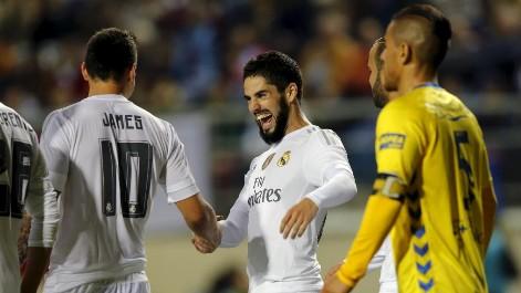 Doblete de Isco en el Cádiz-Real Madrid