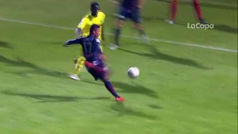 Gol de Mach�s (3-2) en el Huesca 3-2 Villarreal