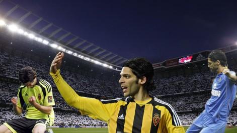 Lafita, un especialista en el Bernabéu