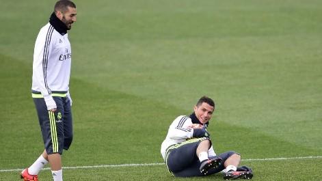 �Pisot�n de Benzema o piscinazo de Cristiano?
