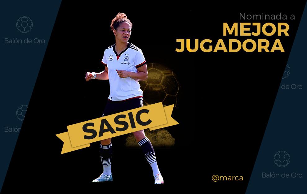 Celia Sasic nominada a mejor jugadora del año 2015