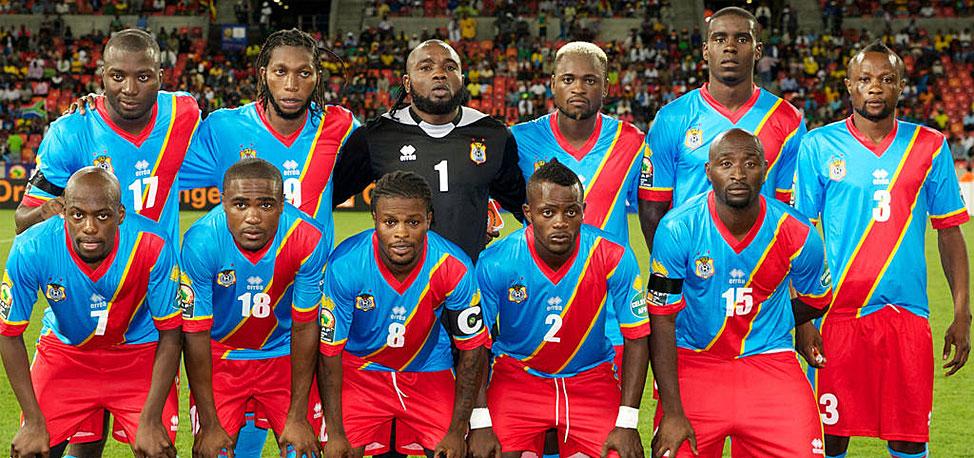 La selección de RD del Congo