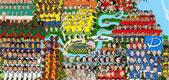 Las selecciones del Mundial ocupan Brasil