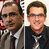 Juan Ignacio Gallardo y Miguel Serrano