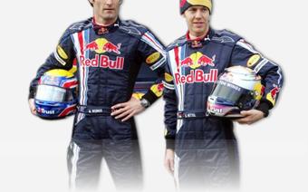 Los pilotos de Red Bull
