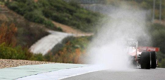 Entrenamientos en Jerez