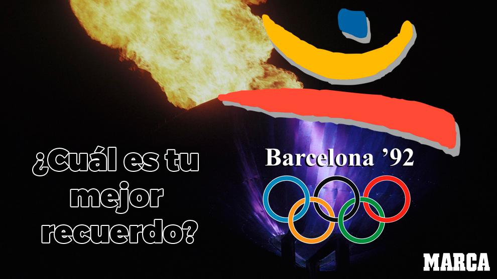 Recuerdos De Las Olimpiadas De Barcelona 92 Especial Marca