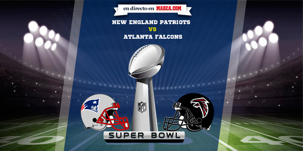 0fdc129f7 New England Patriots vs Atlanta Falcons en directo