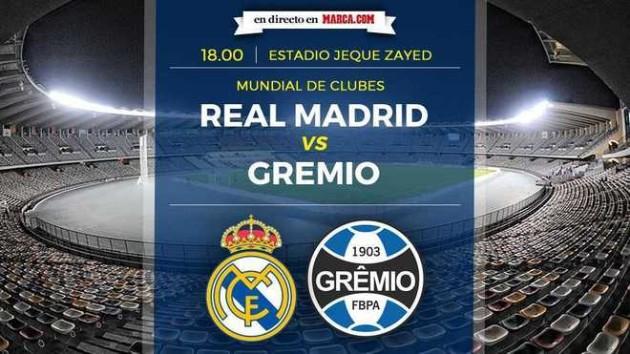 Crónica Resumen Y Vídeos Del Real Madrid Vs Gremio Sigue