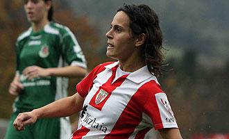 Eli Ibarra, jugadora del Athletic de Bilbao.