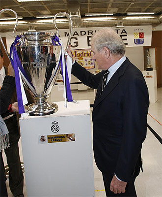 Ramón Calderón, ante el título más anhelado, la Copa de Europa