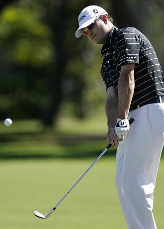 El golfista stadounidense Zach Johnson