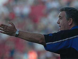 Quique Hernández durante un partido.