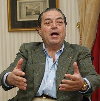 Vicente Boluda, presidente del Real Madrid