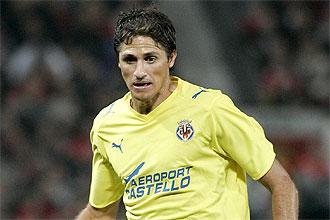 Jos� Edmilson, en un partido con el Villarreal