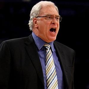Phil Jackson, t�cnico de los Lakers