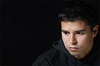 Javier Saviola, durante la entrevista