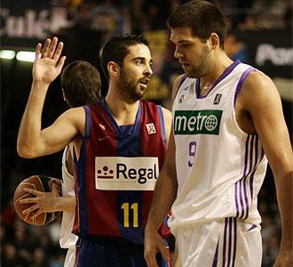 Lance del �ltimo Barcelona-Madrid de la 14� jornada de la ACB