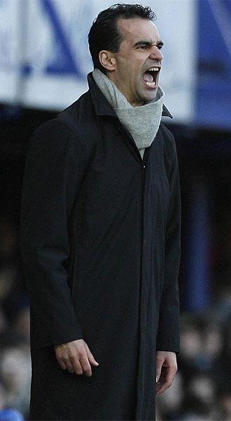 Roberto Mart�nez, t�cnico del Swansea.