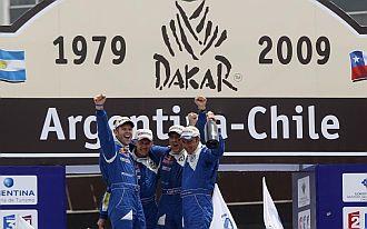 Final de la edici�n del Dakar 2009 en Argentina y Chile