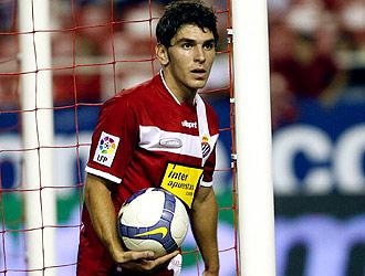 Jonathan Soriano, en un partido con el Espanyol