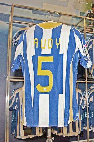La camiseta deportivista de Rudy