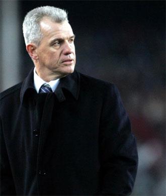 Javier Aguirre pone mala cara en uno de sus partidos como entrenador del Atleti