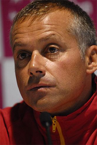 Miguel Margets, capit�n y seleccionador espa�ol de Copa Federaci�n.