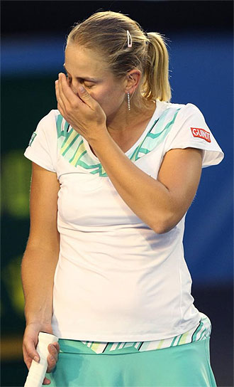 Jelena Dokic en el Open de Australia 2009.