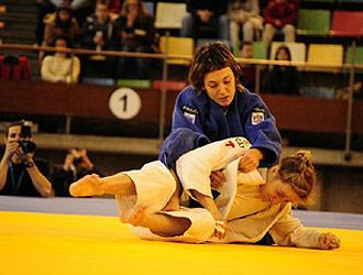Oiana Blanco, campeona de España de Judo.