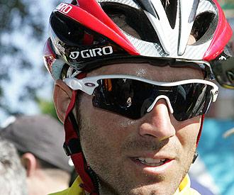Valverde en una etapa de la pasada Vuelta a Murcia.