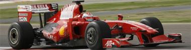 Raikkonen, en su Ferrari