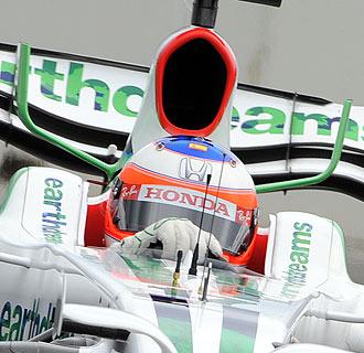 El piloto brasile�o Rubens Barrichello