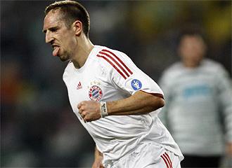 Ribery con el Bayern